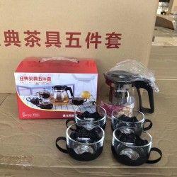 bộ ấm trà 4 cốc