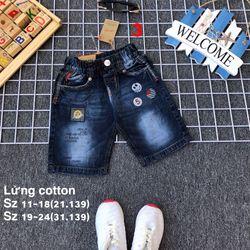 Quần lửng jean cotton giá sỉ, giá bán buôn