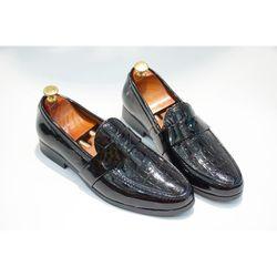 Giày Tây Nam Da Bóng- Mã Dập Vân Bóng giá sỉ giá bán buôn giá sỉ
