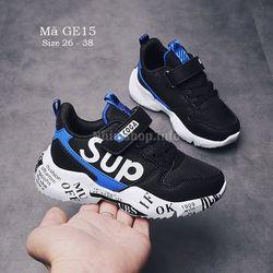 Bán buôn bán sỉ giày dép trẻ em - GIÀY THỂ THAO CHO BÉ TRAI GE15 giá sỉ