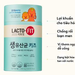 Men vi sinh sữa non Lacto Fit Hàn Quốc cho bé 3 - 15 tuổi giá sỉ