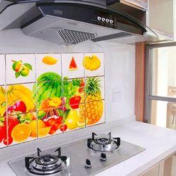 miếng dán nhà bếp Kích thước 45cm x 75cm miếng dán cách nhiệt nhà bếp giá sỉ