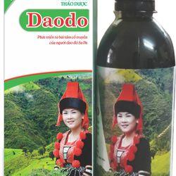 Nước tắm thảo dược của người Dao Đỏ Daodo dành cho bà mẹ sau sinh giá sỉ