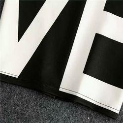 Chân váy bút chì chữ Love trắng đen giá sỉ