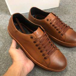 giày thể thao nam màu nâu hàng cao cấp giá sỉ