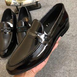 giày lười nam dion da bò phun bóng giá sỉ