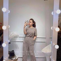 set bộ đồ nữ đẹp chất cá tính dễ thương giá rẻ len cộc tay BN 88589 giá sỉ
