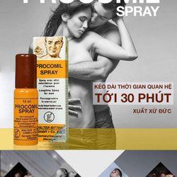 Bình xịt thuốc chống xuất tinh sớm Procomil Spray giá sỉ giá sỉ