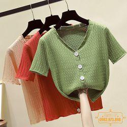 HÀNG MỚI VỀ Áo len nữ mỏng áo len nữ thời trang - HEU208