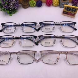 Mắt kính - kính giả cận TR90 viền kim loại giá sỉ