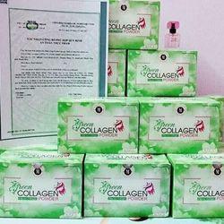 Diệp lục Collagen 30 gói hộp 30 gói giá sỉ