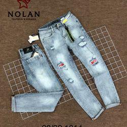 Jean nam bạc rách