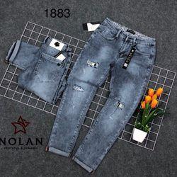 Jean nam rách đắp thời trang