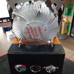 Fan tản nhiệt CPU 12cm VSP K12 Aurora led 7 màu giá sỉ