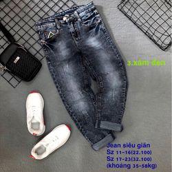 quần jean dài lưng dây kéo giá sỉ