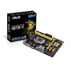 Mainboard Asus H81M-K Socket LGA1150 VGADVI - giá sỉ