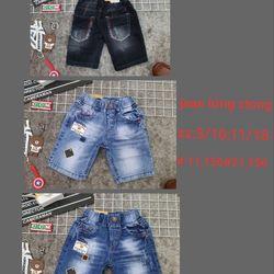 Quần lửng jean cotton mát giá sỉ