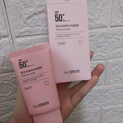 Kem Chống Nắng The SAEM Eco Earth Power Pink Sun Cream SPF50 PA 50ml giá sỉ, giá bán buôn