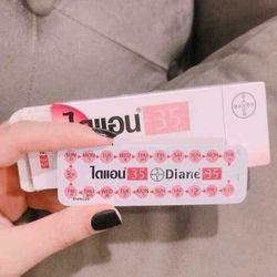 Thuốc ngừa thai DIANE-35 thái lan giá sỉ, giá bán buôn