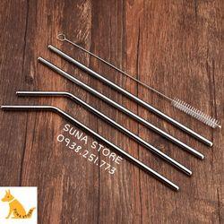 Ống Hút Inox 304 Size 215cm x 6mm