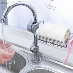 Khay inox gắn vòi rửa chén 2254