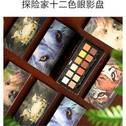 Bảng phấn mắt 12 ô MEZZE Adventurer Eyeshadow Palette MEZZE nội địa Trung MZ-4333 giá sỉ