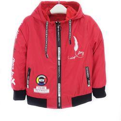 920186-ZM1- Áo gió bé trai dài tay lót cotton in lông vũ đỏ size bé 4-8/ri5/T7b0a/5 giá sỉ