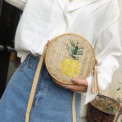 Túi đeo chéo họa tiết độc đáo dễ thương không đụng hàng ngăn để đồ rộng rãi- 908 giá sỉ