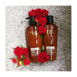 Cặp Dầu Gội ELISA collagen argan oil 500ml Phục Hồi Tóc Hư Tổn Chuyên sỉ Toàn quốc giá sỉ