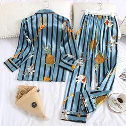 Đồ bộ mặc nhà Nam phi bóng mềm mạihoa văn dể thương trẻ trung-215 giá sỉ, giá bán buôn