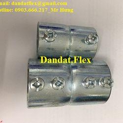 Ống thép mềm luồn dây điện bọc nhựa không bọc nhựa bọc lưới và phụ kiện đầu nối các loại giá sỉ