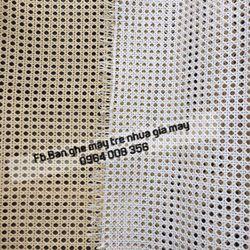 Lưới nhựa đan mắt cáo cuộn mắt cáo mây nhựa đan làm tủ ghế gỗ giá sỉ