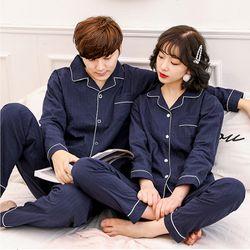 Bộ đồ ngủ Nữ chất liệu cotton pha đũi vô cùng thoáng mát thoải mái 208 giá sỉ