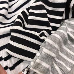 áo phông thun nữ đẹp kiểu hàn quốc dễ thương giá sỉ dài tay kẻ ngang BN 73789 Kèm Ảnh Thật