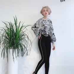 quần legging nữ cao cấp đẹp giá rẻ hàn quốc thể thao viền 1 mí BN 03764 Kèm Ảnh Thật giá sỉ
