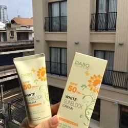 Kem Chống Nắng Dưỡng Da DABO White Sunblock Cream SPF50 giá sỉ