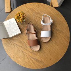 Sandal bánh mì khâu viền bảng ngang giá sỉ