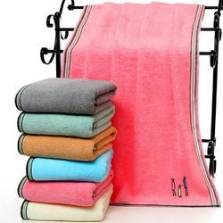 Khăn tắm lớn 70x140 dày siêu thấm chất liệu cotton mềm mại 400g - 300 giá sỉ