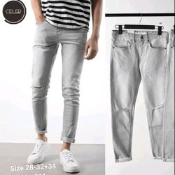 Quần Jeans nam có size 34 chất đẹp giá sỉ