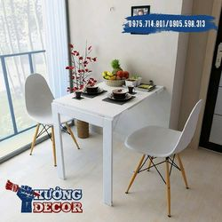 bàn gấp tường 6090 gỗ tự nhiên đen trắng cao 75cm giá sỉ, giá bán buôn