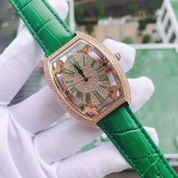 Đồng hồ nữ Davena xanh lá