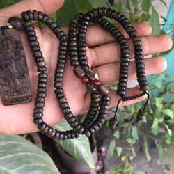 Mặt dây chuyền gỗ trầm hương indo giá sỉ