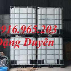 Tank 1000l đựng nước sinh hoạt bồn 1000l đựng hóa chất tank nhựa đựng thực phẩm 1000l tank 1000l nuôi cá giá sỉ