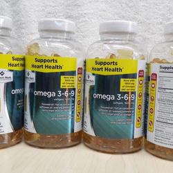 Thực phẩm chức năng Viên Uống Bổ Sung Dầu Cá Omega 3-6-9 Supports Heart Health giá sỉ