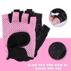 Găng tay tập gym nữ Găng tay nữ