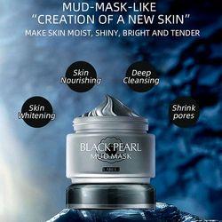 Mặt nạ bùn khoáng ngọc trai Laikou Black Pearl Whitening Mud Mask sỉ 32-35k/hủ 85gr giá sỉ