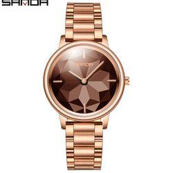Đồng hồ Sanda nữ 1019 màu coffee giá sỉ