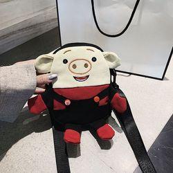 Túi xách nữ 2019 Chất Vải Em Lợn Dễ Thương D122 giá sỉ, giá bán buôn