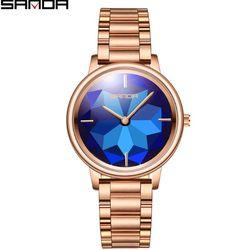 Đồng hồ Sanda nữ 1019 màu xanh biển giá sỉ