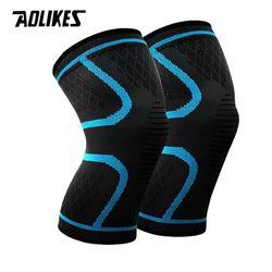 Bó gối đàn hồi bảo vệ đầu gối Aolikes AL7718 - Phụ kiện tập gym chạy bộ đạp xe bóng chuyền bóng đá giá sỉ